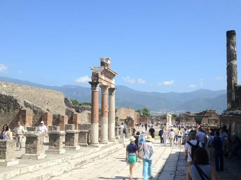 Private Tour Pompeii Sorrento Positano From Naples